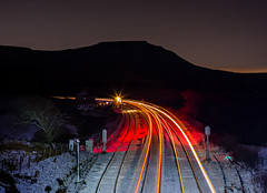 The alternative Christmas message..... (Robert France) Tags: 2017 absoluteblock absoluteblocksignaling bleamoor britain dales england greensignal ingleborough lighttrail lighttrails mechanical rail railroad rails railway railways redsignal ribblehead rural sc safety settlecarlisle signal signalbox signaling signals snow transport uk unitedkingdom winter yorkshire creative progressive artistic railwayphotography railwayphotograph railwayphotographs phoenixrailwayphotographiccircle prpc phoenixrpc image images train trains art photograph photographs photography