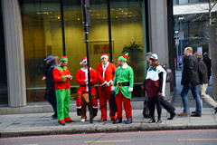 DSC_6125 City of London Bishopsgate Santa and his Helpers (photographer695) Tags: city london bishopsgate santa his helpers