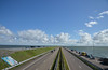 The Afsluitdijk (-Kj.) Tags: afsluitdijk causeway dike highway road straight northsea ijsselmeer sky cloud