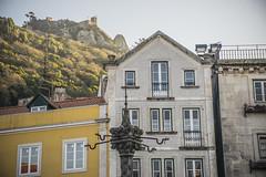 Al pie del castillo (palm z) Tags: sintra portugal fachada fachadas castillo