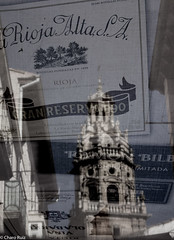Haro.-Capital del Vino. La Rioja. (Charo R.) Tags: haro vino la rioja iglesia canon