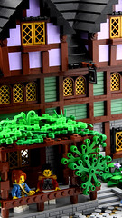 The Lavender Inn - Detail (Ayrlego) Tags: lego brethrenofthebrickseas bobs corrington jameston challengeieraii