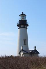 Yaquina Head Lighthouse - Oregon (russ david) Tags: yaquina head lighthouse lincoln county or oregon april 2017 architecture coast pacific ocean cape foulweather