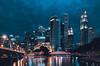 Chasing blue hour (starlightz82) Tags: singapore asia singaporeriver marinabay landscape landmark cityscape city nightscape lights sg longexposure travel holiday