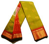 GDL006009B (Anivartee.) Tags: handwoven silk saree