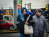 Mr. Lube (bluechromis1) Tags: 2017 canada canont3i vancouver travel street color mood signs tension candid unposed mother bluehair urban city l