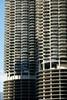 The Corn Cob balconies, Chicago (jozioau) Tags: corncob riverside apartments balconies chicago