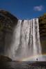 Skogafoss waterfall in its full glory (Lie's Foto Studio 2.0) Tags: iceland europe skogafoss water waterfall nature outdoor rainbow viking landscape nikon skogar