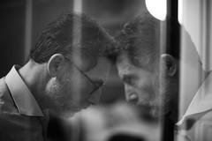 01.04 Tête à tête (dd66h14) Tags: project365 365project self selfportrait confrontation doubleexposure incamera