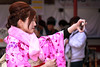 Selfie (Peapotty) Tags: stm street m3 efm m5 18150mm eos kimono japan canon dazaifushi fukuokaken jp
