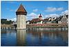 Luzern - Kapellbrücke (.Robert. Photography) Tags: kapellbrücke riu río reuss luzern lucerna suisse switzerland suiza robert