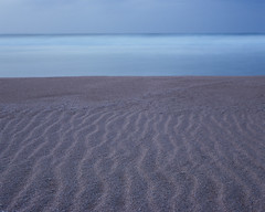 Ripples of time (JaZ99wro) Tags: hawaje sand tetenal3bathkit hawaii film sea exif4film beach e6 water longexposure nd1000 f0332 pentax67ii opticfilm120 analog 220 astia100f