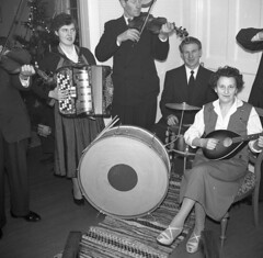 New years eve 1957 (rotabaga) Tags: sverige sweden newyearsewe happynewyear nyårsafton svartvitt blackandwhite bw bwfp