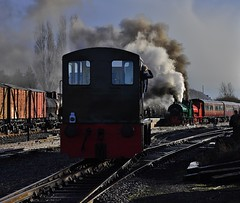 Chasewater Railway - New Years Day 2018 (Martin Creese) Tags: 2018 january chasewaterrailway chasewater new years day railway photography nikon d90
