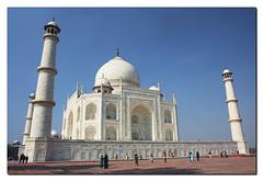 Taj Mahal - by John Runions (jrunions1) Tags: taj mahal agra india tajmahal