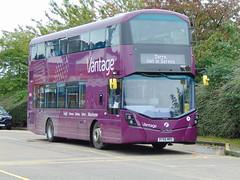 First Manchester 39258 (BT66MRO) (AlexW12) Tags: first manchester vantage bus leigh station volvo b5lh gemini 3