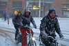 Weteringschans - Amsterdam (Netherlands) (Meteorry) Tags: europe nederland netherlands holland paysbas noordholland amsterdam amsterdampeople candid centrum centre center winter hiver bikes bicyclette bicycle people cyclists snow neige blizzard december 217 meteorry