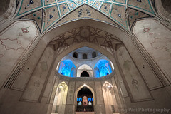 Agha Bozorg Mosque, Kashan, Iran (Feng Wei Photography) Tags: islamicculture night traveldestinations lowangleview art aghabozorgmosque landmark colorimage islamic mosque kashaniran tranquilscene iran iranianculture travel builtstructure isfahan islam outdoors architecture middleeast horizontal courtyard tourism kashan irn