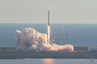 CRS13 Falcon9 by SpaceX