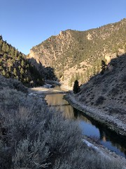 Gunnison River and the Cimarron River confluence (Chuckcars) Tags: