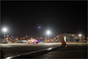 UFO Flare (mikeyp2000) Tags: airport wing flare tlv sharklet glare llbg night