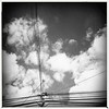 Lines (cinder85212) Tags: powerlines abstract blackandwhite hipstamatic iphone8plus wonderlens aobwfilm standardflash