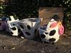 Holstein picnic table (SierraSunrise) Tags: nongkhai phonphisai thailand furniture outdoor holstein cow table chairs cute
