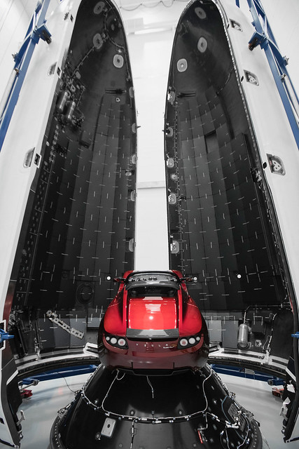 Falcon Heavy Demo Mission - Payload