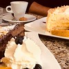 Die Weihnachtsgans (bornschein) Tags: chillen cappuccino café city cup cake