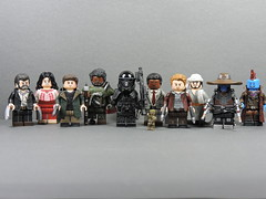 Top 10 Favorite Custom Minifigures I made in 2017 (Will HR) Tags: 2017 lego logan indianajones raidersofthelostark starwars bladerunner2049 clonewars marvel