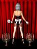MAID02 BACK (bigbertha666) Tags: doll mask corset fetish maskedface maid sissy poser spielzeug sextoys bodyjewellery lack plastic satin pvc rubber bondage gloves fetishfashion