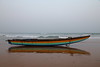 Lone boat on shore (Chandrasekhar Bhattacharya) Tags: boat bayofbengal sea evening colours vizag visakhapatnam