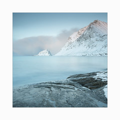 Nordland (Frans van Hoogstraten) Tags: lofoten winter snow coastline sea