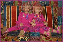Tivi und Sanrike ... (Kindergartenkinder) Tags: kindergartenkinder annette himstedt dolls sanrike tivi neujahr 2018