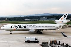 City Bird McDonnell-Douglas MD-11 N273WA (gooneybird29) Tags: flugzeug flughafen aircraft airport airplane airline zrh mcdonnelldouglas md11 citybird n273wa seagull