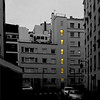 Paris, Quartier Croulebarbe (pom.angers) Tags: croulebarbe panasonicdmctz30 january 2018 75 paris îledefrance seine france europeanunion 13èmearrondissement dawn yellow 100 200