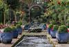 symmetric garden (Stijn Daniels) Tags: garden tuin fountain fontein plant water pairi daiza dierentuin zoo symmetry symmetrisch green canon rebel 600d 70200f4l