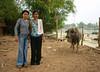 What May The Water Buffalo Think? (Wolfgang Bazer) Tags: water buffalo wasserbüffel si phan don southern laos südlaos südostasien southeast asia
