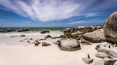 Boulders beach (hjuengst) Tags: simon´stown bouldersbeach boulders beach penguins africanpenguins capetown southafrica clouds