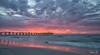 2018 - 01_07 - Landscape - Largs - Sunset 04 (stevenlazar) Tags: 2018 beach ocean sunset australia colour adelaide largs jetty longexposure southaustralia waves