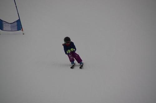 Entraînement des jeunes du Ski Club Dent Blanche - Chemeuille