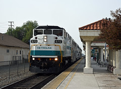 Late-Running (GRNDMND) Tags: trains railroads metrolink scrra locomotive emd f59ph upland california