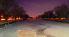 frozen Speed River (DeZ - photolores) Tags: speedriver guelphcanada royalcitypark river snow frost reflection trees night hdr nikon nikond610 nikkor nikkor1424mmf28 nature urban dez handheld 6400iso