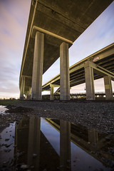 I-80 (eb78) Tags: ca california oakland eastbay npy nightphotography longexposure freeway reflection