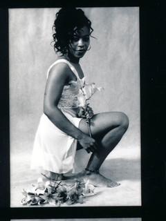 Lace Philadelphia Studio Photo Shoot Kodak TMY 35mm B&W Contact Sheet Proof Print Aug 1994 IMG_0033