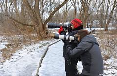 Les passionnés Estelle et Serge. (donaldpoirier93@yahoo.fr) Tags: passionné extérieur domainemaizerets québec paysage photo nikond700 téléobjectif glace hiver canon sigma