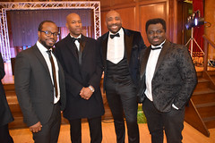 DSC_7098 Black British Entertainment Awards BBE Dec 2017 at Porchester Hall London by Jean Gasho Co Founder of BBE with Johnny Nelson former boxer and Sky Sports Presenter and Kofi Nino Ghana's Opera Singer (photographer695) Tags: black british entertainment awards bbe dec 2017 porchester hall london by jean gasho co founder with johnny nelson former boxer sky sports presenter kofi nino ghanas opera singer
