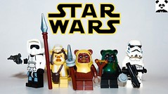The Ewoks (Random_Panda) Tags: lego figs fig figures figure minifigs minifig minifigures minifigure purist purists character characters comics hero heroes comic book books films film movie movies tv show shows television star wars clone rebels rebellion empire jedi sith episode 6 return endor imperial scout trooper storm stormtrooper