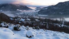Fin de journée à Vougron (MarKus Fotos) Tags: hautesavoie auvergnerhonealpes chablais hiver winter snow neige brume brouillard stratus gavot