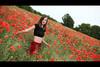 * (Henrik ohne d) Tags: eos5dmk2 ef50mmf14 portrait netti june2017 red poppy poppies poppyfield fieldofpoppies